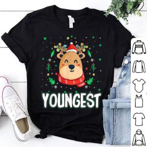 Nice Cute Youngest Reindeer Santa Ugly Christmas Family Matching sweater