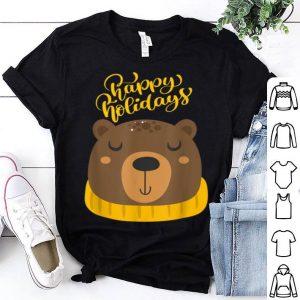Nice Lovely Bear Happy Holidays 2020 - Christmas Pajama shirt