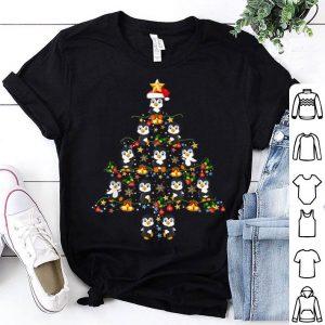 Nice Penguin Christmas Tree Merry Christmas gift Xmas shirt