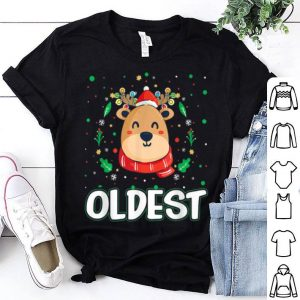 Official Cute Oldest Reindeer Santa Ugly Christmas Family Matching sweater