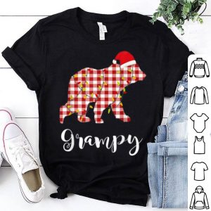 Official Grampy Bear Christmas Matching Family Ugly Pajama Hat Santa sweater