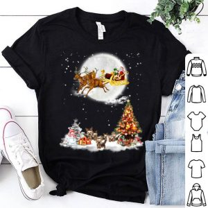 Official Yorkie Christmas Santa Xmas Gift For Yorkshire terrier Dog shirt