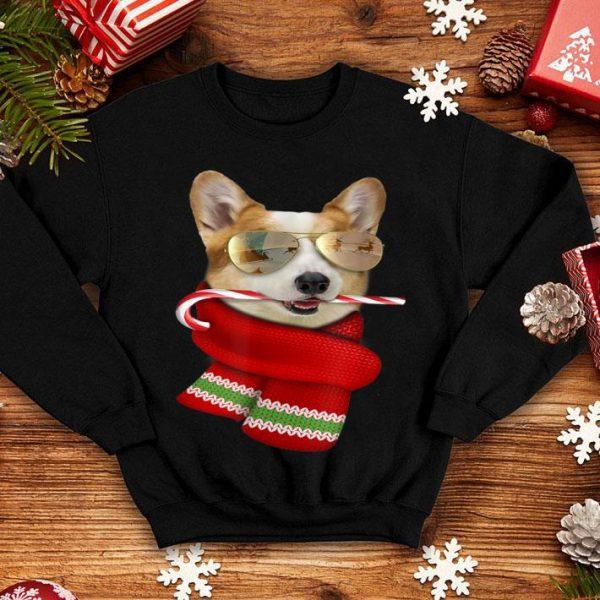 Original Corgi Cute Christmas Gift for Dog Lovers Sunglasses shirt