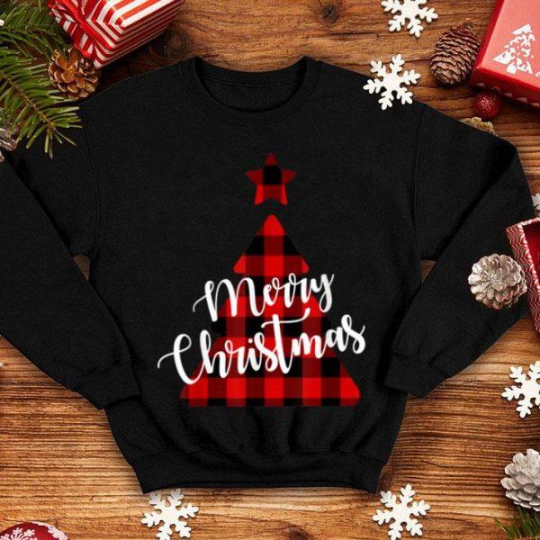 Original Merry Christmas Plaid Tree shirt