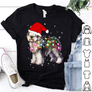 Premium Christmas Lights Olde English SheepDog sweater