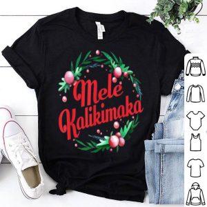 Premium Hawaiian Merry Christmas Mele Kalikimaka shirt
