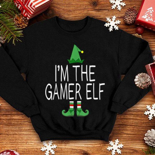 Premium Matching Family Christmas Funny I'm The Gamer Elf Gift Idea shirt