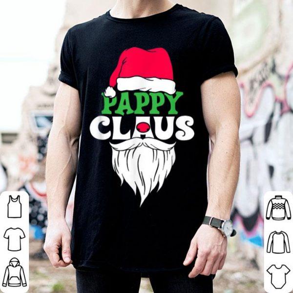 Pretty Pappy Claus Santa Christmas Matching Family Xmas Gift shirt