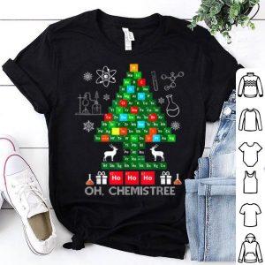 Pretty Science Christmas Oh Chemist Tree Chemistree Chemistry shirt