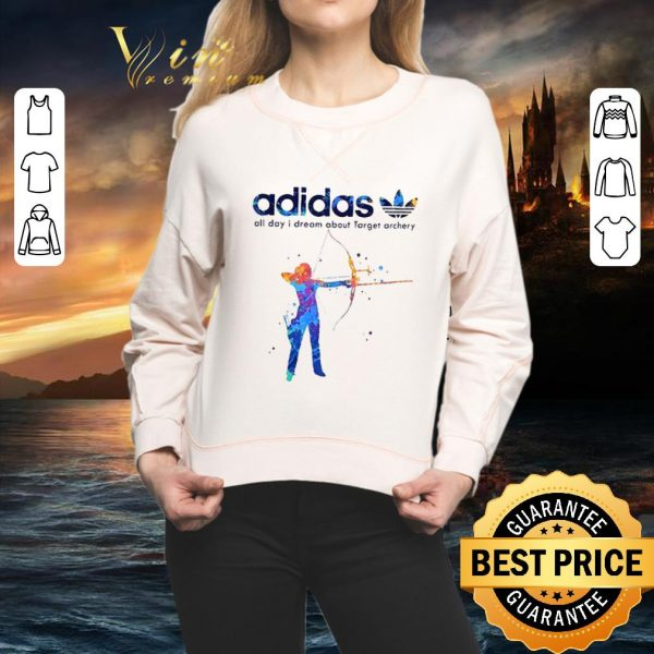 Pretty adidas all day i dream about Target archery shirt
