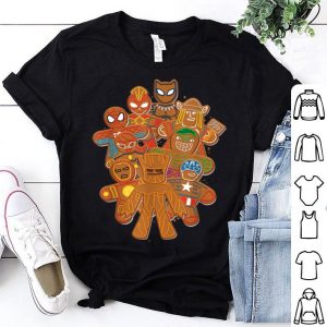 Top Marvel Avengers Gingerbread Cookies Christmas sweater