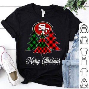 Top Merry Christmas Tree Football Team SanFrancisco-49er Fan shirt