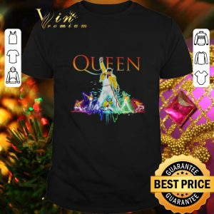 Awesome Color Queen Freddie Mercury shirt
