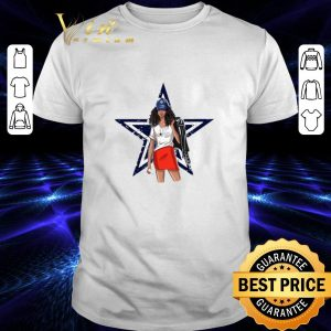 Awesome Dallas Cowboys girl fan shirt