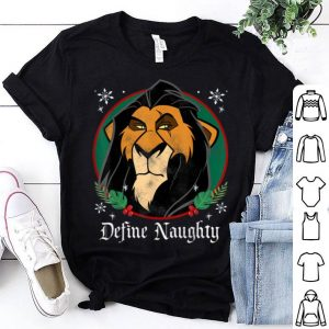 Awesome Disney The Lion King Scar Define Naughty Christmas sweater