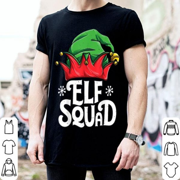 Awesome Elf Squad Christmas Elves Family Matching Pajamas sweater