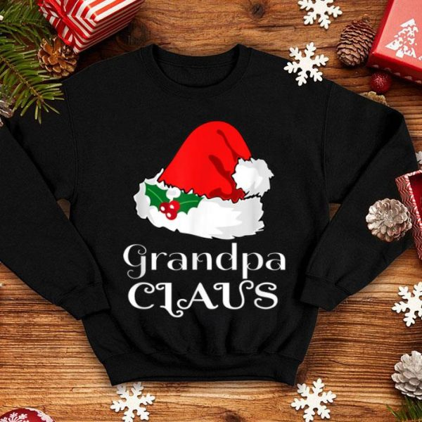 Beautiful Christmas Grandpa Claus Matching Pajama Mens Santa Hat X-mas sweater