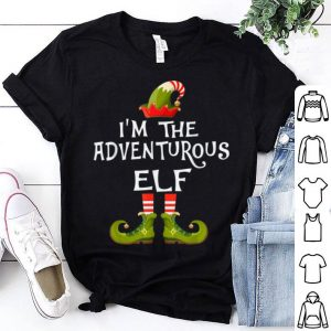 Beautiful I'm The Adventurous Elf Costume Matching Family Christmas sweater