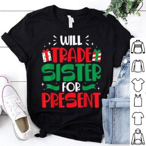 Beautiful Will Trade Sisters For Presents Funny Family Christmas Gift sweater