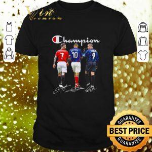Best Champion David Beckham Zidane Cristiano Ronaldo all signature shirt