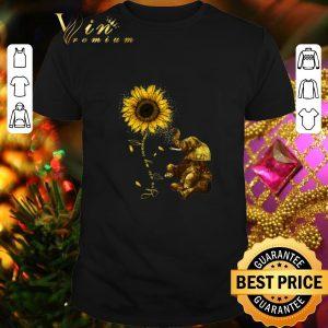 Best Sunflower you are my sunshine elephant shirt