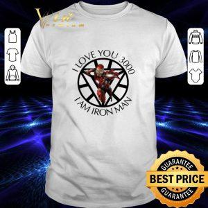 Best Tony Stark I love you 3000 I am Iron Man daughter shirt
