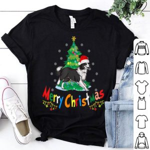 Border Collie Ugly Christmas Sweater sweater