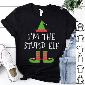 I'm The Stupid ELF ELF Matching Family Group Christmas sweater