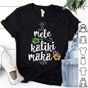 Mele Kalikimaka Christmas Tree Shirt Hawaiian Hawaii Xmas sweater