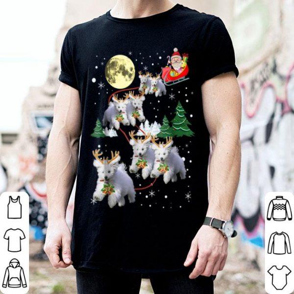 Official Funny Maltese Christmas Xmas Pajama Gift Tee sweater