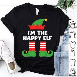 Official I'm The Happy Elf Funny Xmas Matching Family Group Christmas sweater
