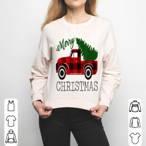 Official Merry Christmas Red Truck Xmas Gift sweater