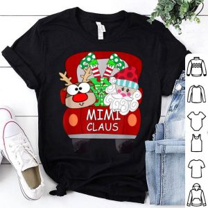 Official Mimi Claus Santa Car Christmas Funny Mimi Gift For Mom Women sweater