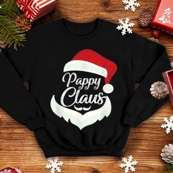 Official Pappy Claus Christmas Pajamas Santa Costume Gift sweater