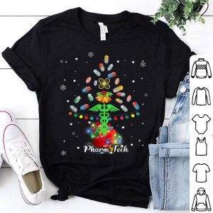 Official Pharm Tech Tree Pills Christmas Holiday Pharmacy Technician sweater