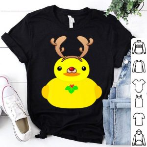 Official Rubber Ducky Reindeer Funny Christmas Ducky Novelty sweater