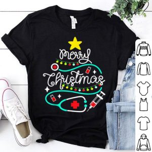 Original Merry Christmas Nurse Doctor Life Medical Stethoscope Gift sweater