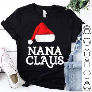 Original Nana Claus Christmas Family Matching Pajama Hat sweater