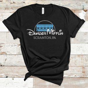 Premium Dunder Mifflin Scranton Pa Disney shirt