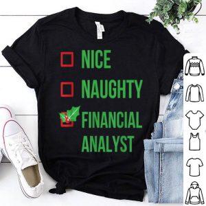Premium Financial Analyst Funny Pajama Christmas Gift sweater