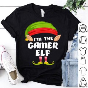 Premium Funny Gamer Elf Matching Family Group PJ Christmas sweater