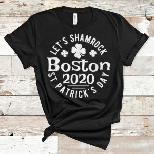 Premium Let's Shamrock Boston 2020 St Patrick's Day shirt