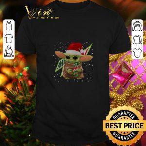 Pretty Baby Yoda Hug Mountain Dew Christmas shirt
