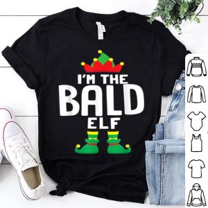 Pretty I'm The Bald Elf Matching Christmas Family Group Gift sweater