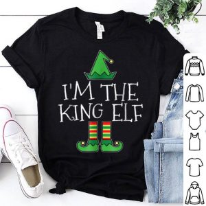 Pretty I'm The King Elf Matching Family Group Christmas PJs sweater