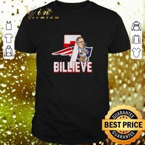 Pretty New England Patriots 7 Billieve vs Buffalo Bills shirt