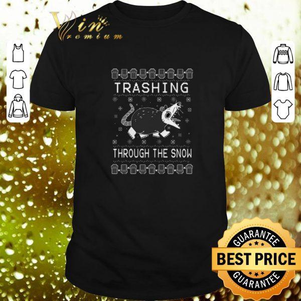 Pretty Trashing Through The Snow Ugly Christmas shirt