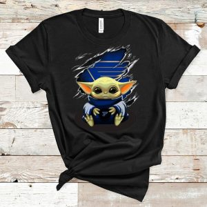 Awesome Star Wars Baby Yoda Blood Inside St. Louis Blues shirt