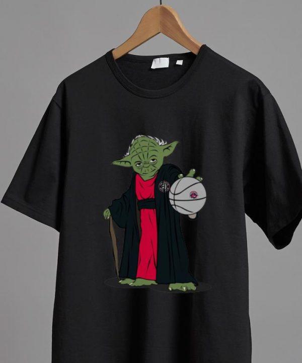 Great Master Yoda Basketball Toronto Raptors NBA shirt