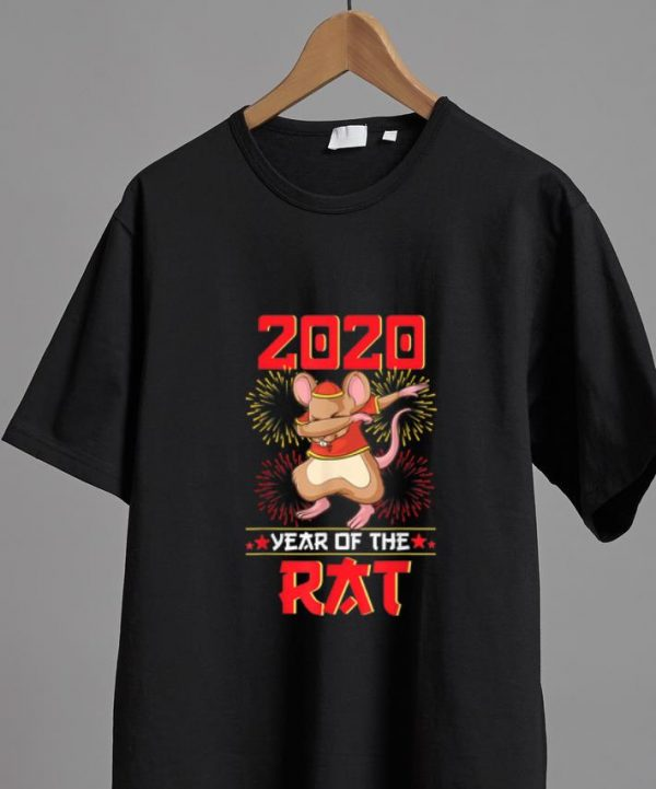 Official Dabbing 2020 Year Of The Rat Happy Chinese New Year shirt